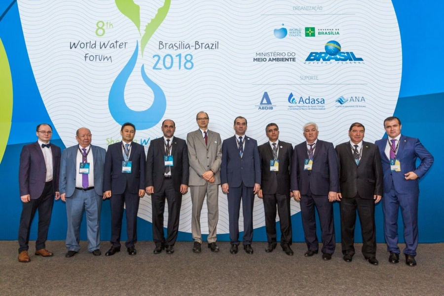 Transboundary water cooperation in Central Asia was presented at the 8th World Water Forum