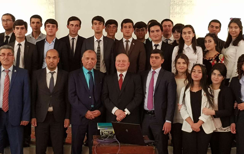 Workshop on water law was conducted in Dushanbe, Tajikistan