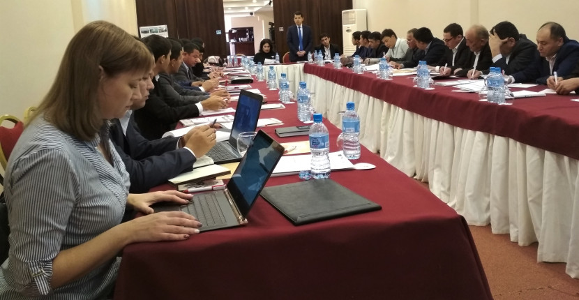 CAREC shares the expertise on basin planning in Uzbekistan