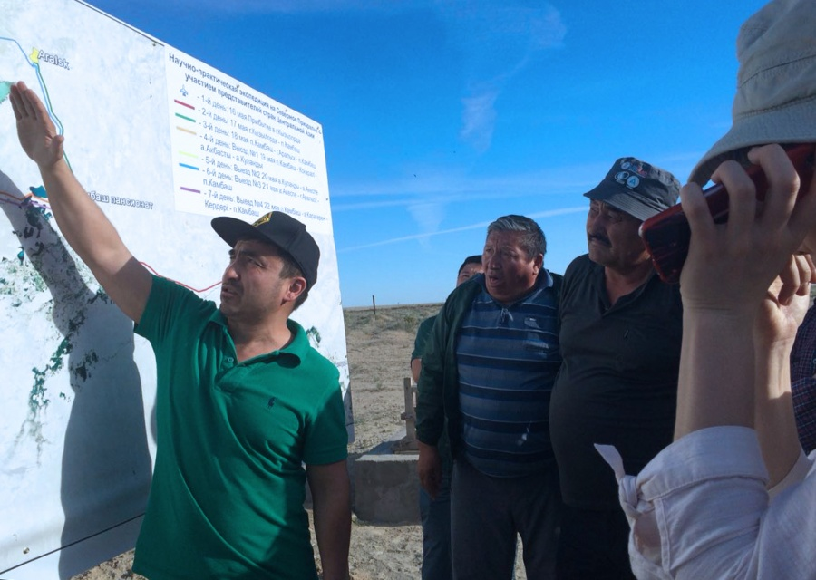 DEMONSTRATION TOUR TO KAZAKHSTAN PART OF THE ARAL-SYRDARYA BASIN