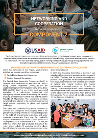 NETWORKING AND COOPERATION Network Development Component 2