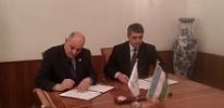 Ministry of Agriculture and Water Resources of Uzbekistan and CAREC signed an agreement on implementation of water projects