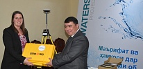 CAREC and USAID handed over a high-precision measuring GIS equipment to water specialists of Tajikistan
