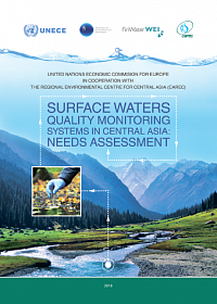 Assessment of needs of systems of surface waters quality monitoring in Central Asia
